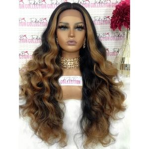SWISS LACE FRONT WIG MIDDLE PART